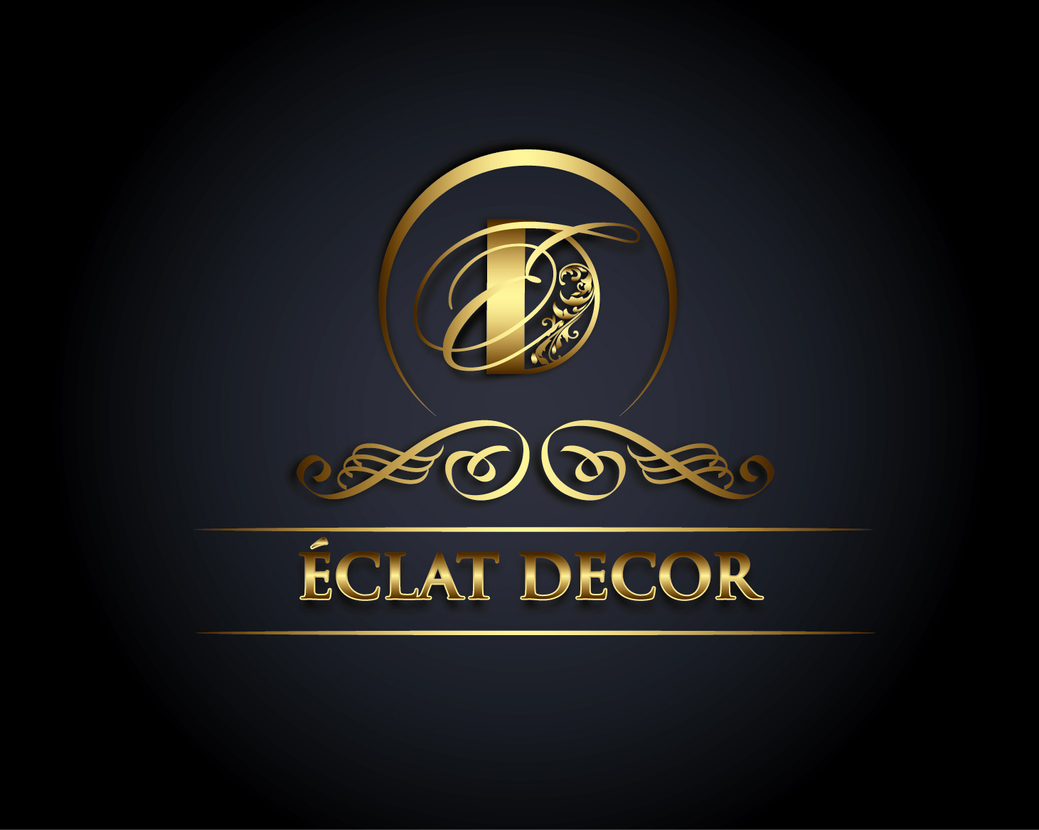 Logo Design by VENTSISLAV KOVACHEV - Entry No. 34 in the Logo Design Contest Imaginative Logo Design for Éclat Decor.