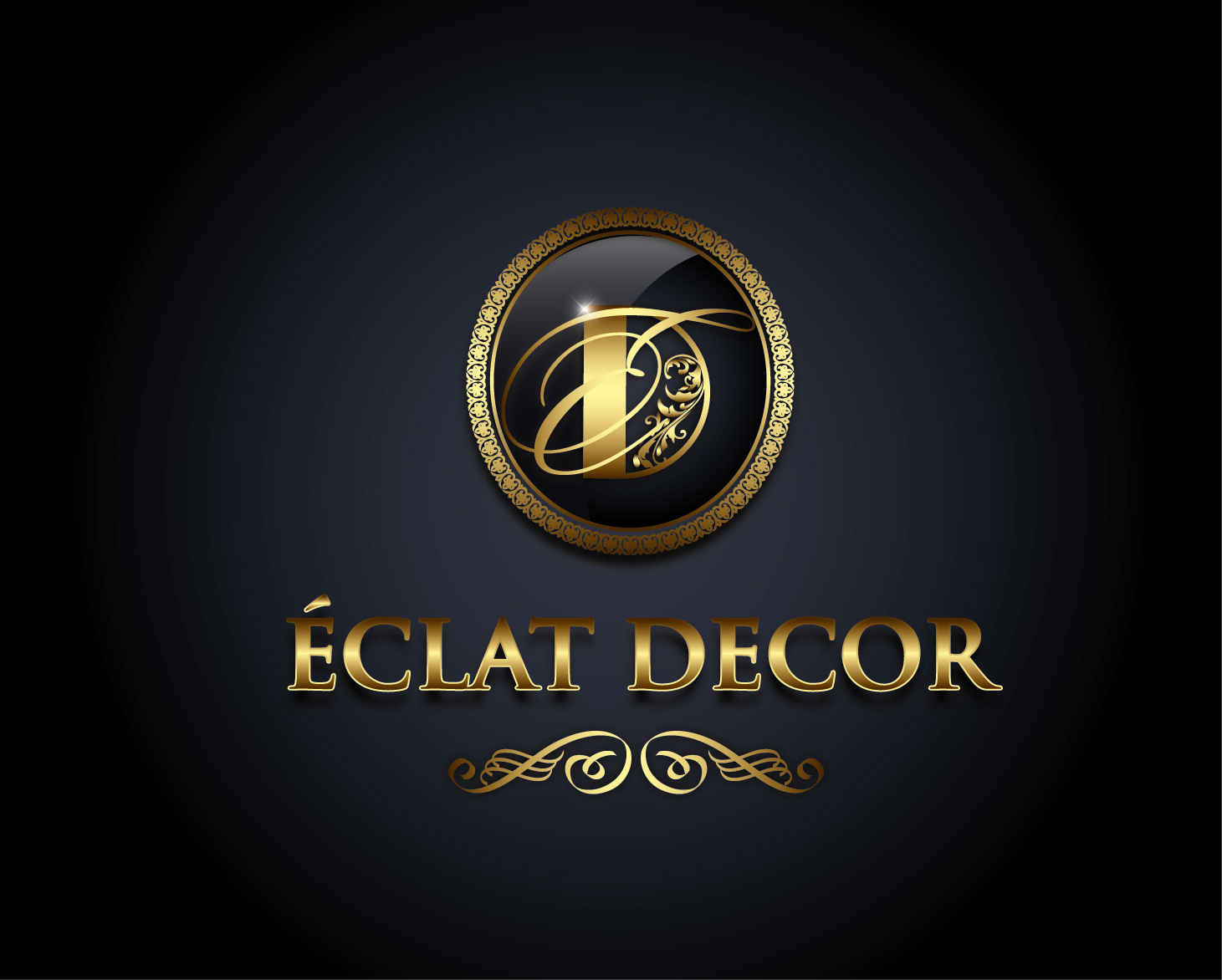 Logo Design by VENTSISLAV KOVACHEV - Entry No. 35 in the Logo Design Contest Imaginative Logo Design for Éclat Decor.