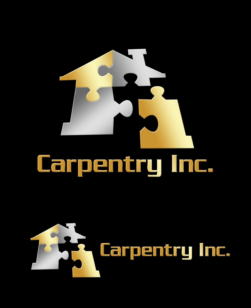 Logo Design by Respati Himawan - Entry No. 64 in the Logo Design Contest Creative Logo Design for Carpentry inc..