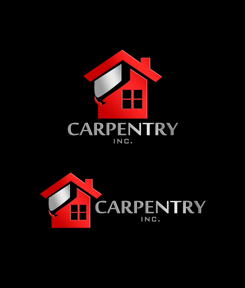 Logo Design by Respati Himawan - Entry No. 65 in the Logo Design Contest Creative Logo Design for Carpentry inc..