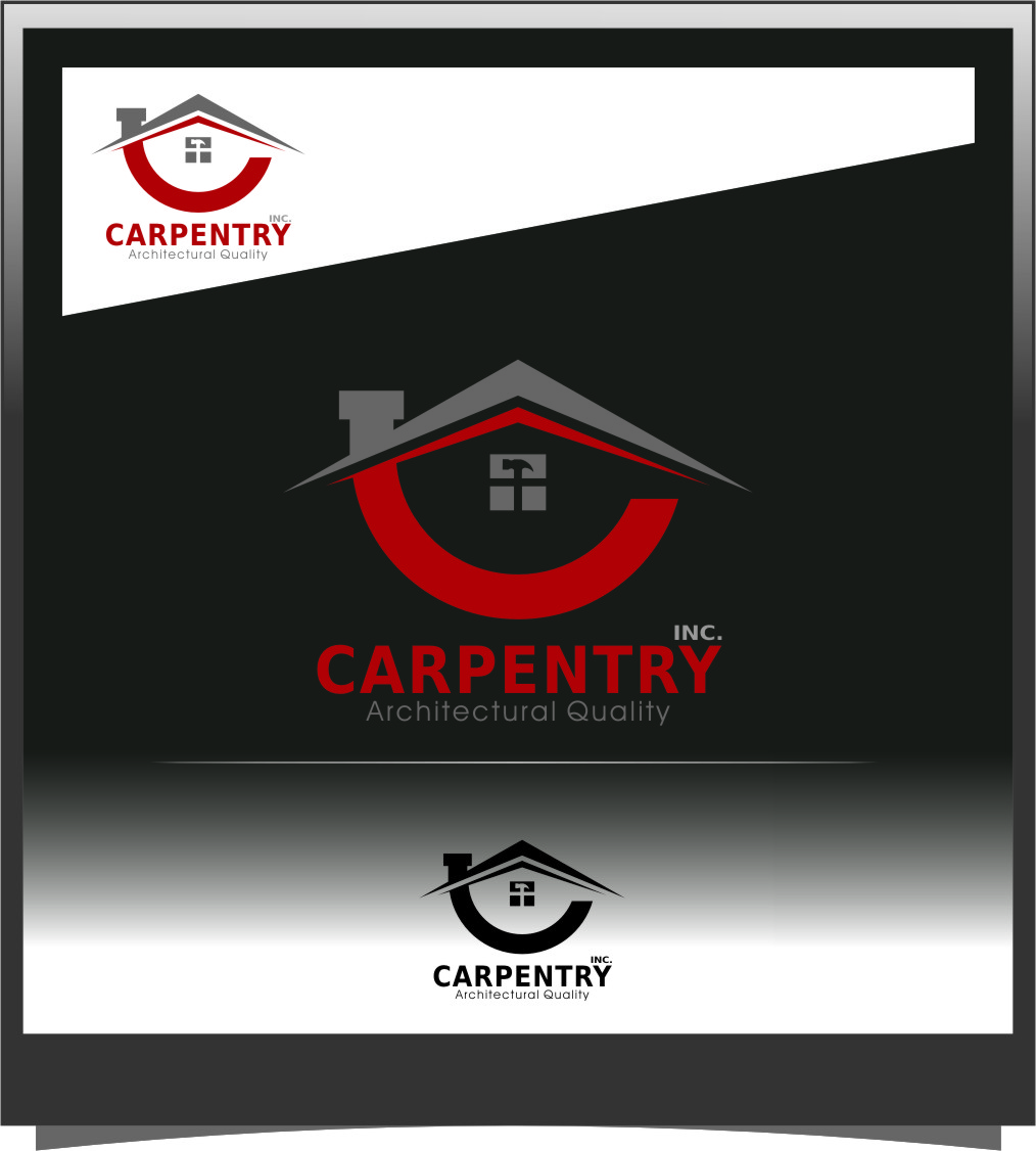 Logo Design by RasYa Muhammad Athaya - Entry No. 66 in the Logo Design Contest Creative Logo Design for Carpentry inc..