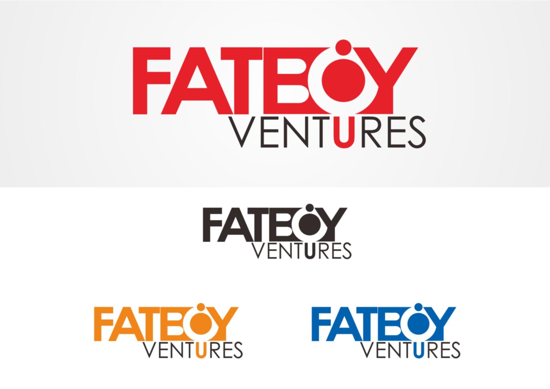 Logo Design by Private User - Entry No. 40 in the Logo Design Contest Fun Logo Design for Fat Boy Ventures.