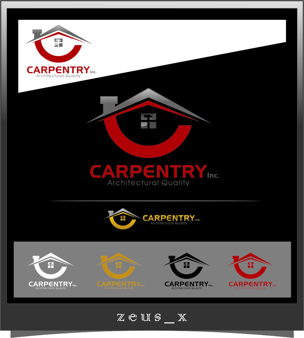 Logo Design by RasYa Muhammad Athaya - Entry No. 67 in the Logo Design Contest Creative Logo Design for Carpentry inc..