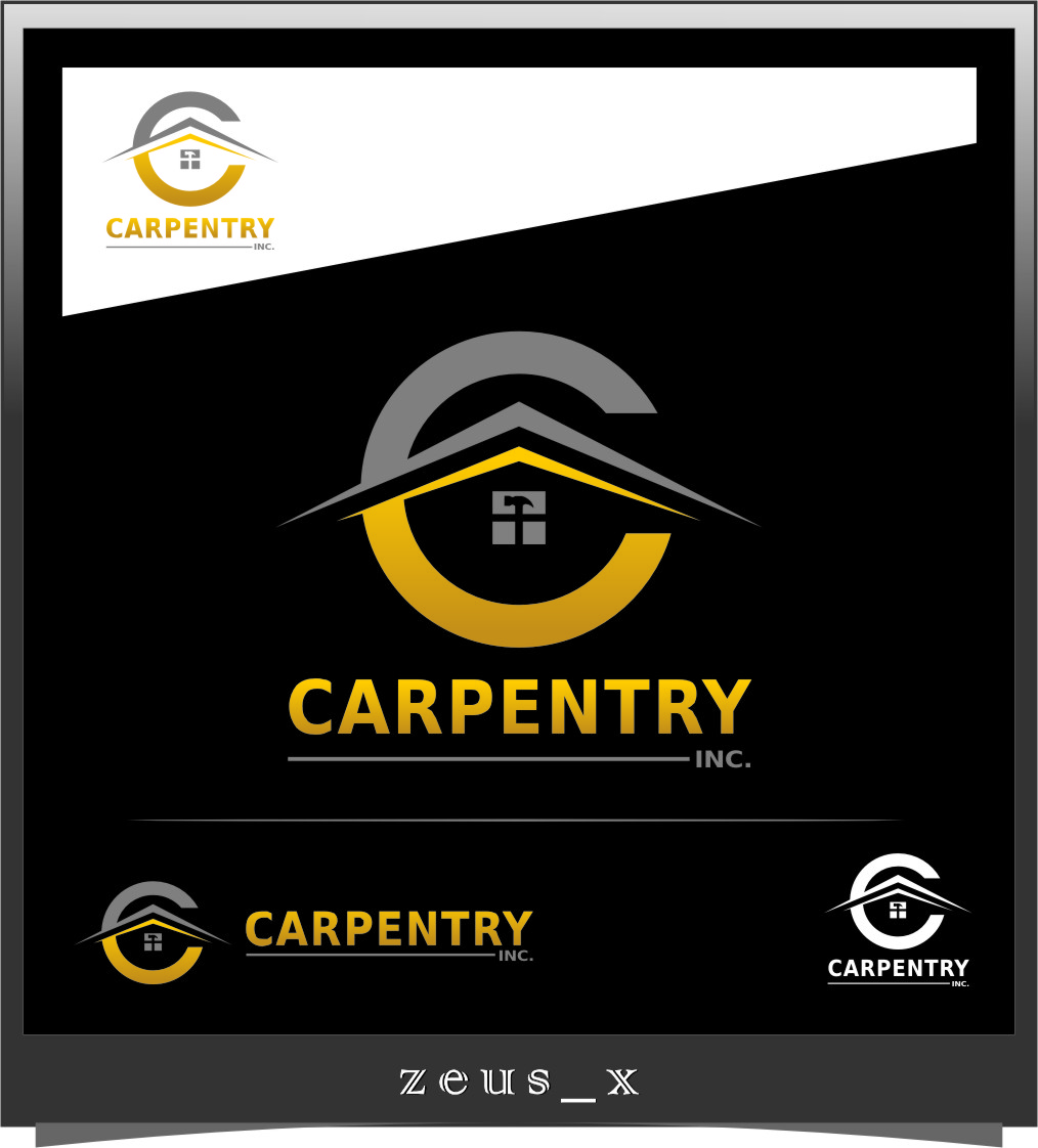 Logo Design by RoSyid Rono-Rene On Java - Entry No. 68 in the Logo Design Contest Creative Logo Design for Carpentry inc..