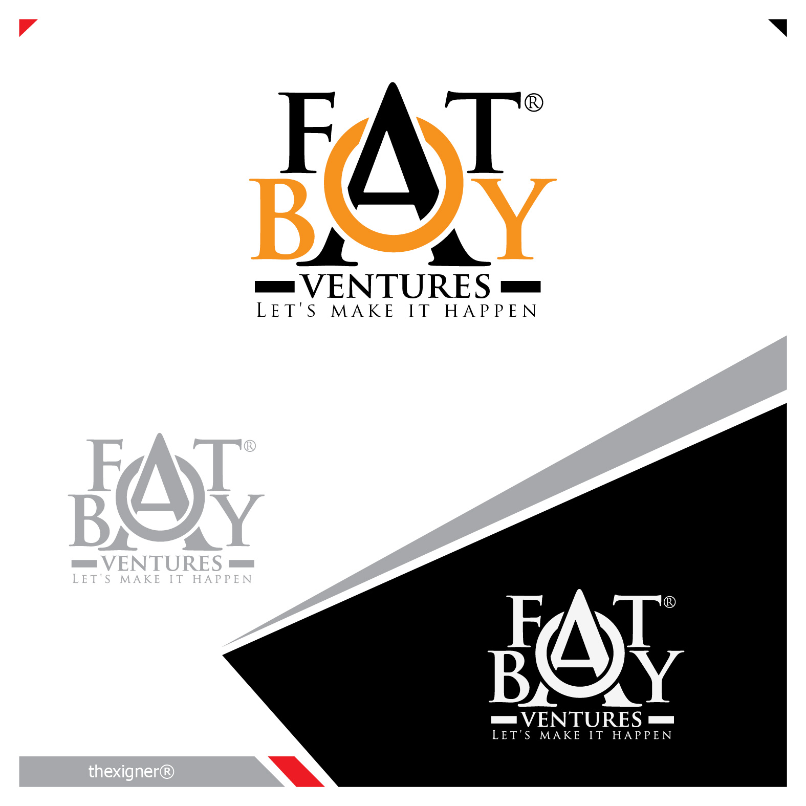 Logo Design by lagalag - Entry No. 41 in the Logo Design Contest Fun Logo Design for Fat Boy Ventures.