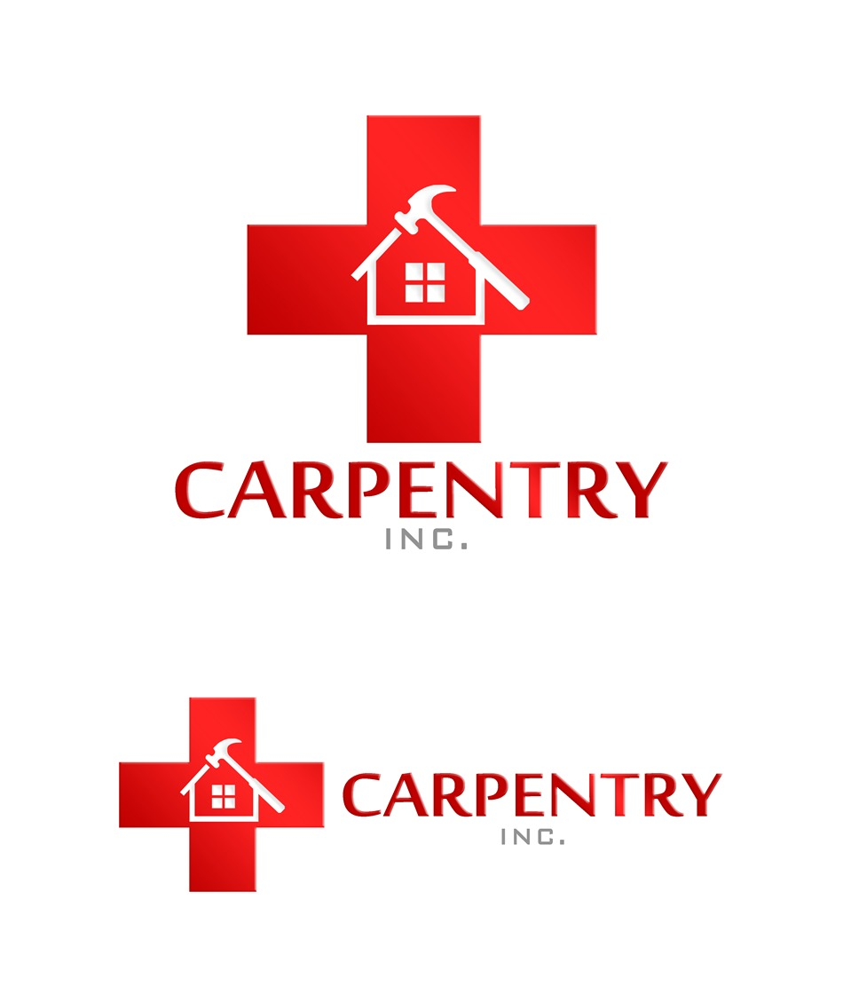 Logo Design by Respati Himawan - Entry No. 69 in the Logo Design Contest Creative Logo Design for Carpentry inc..