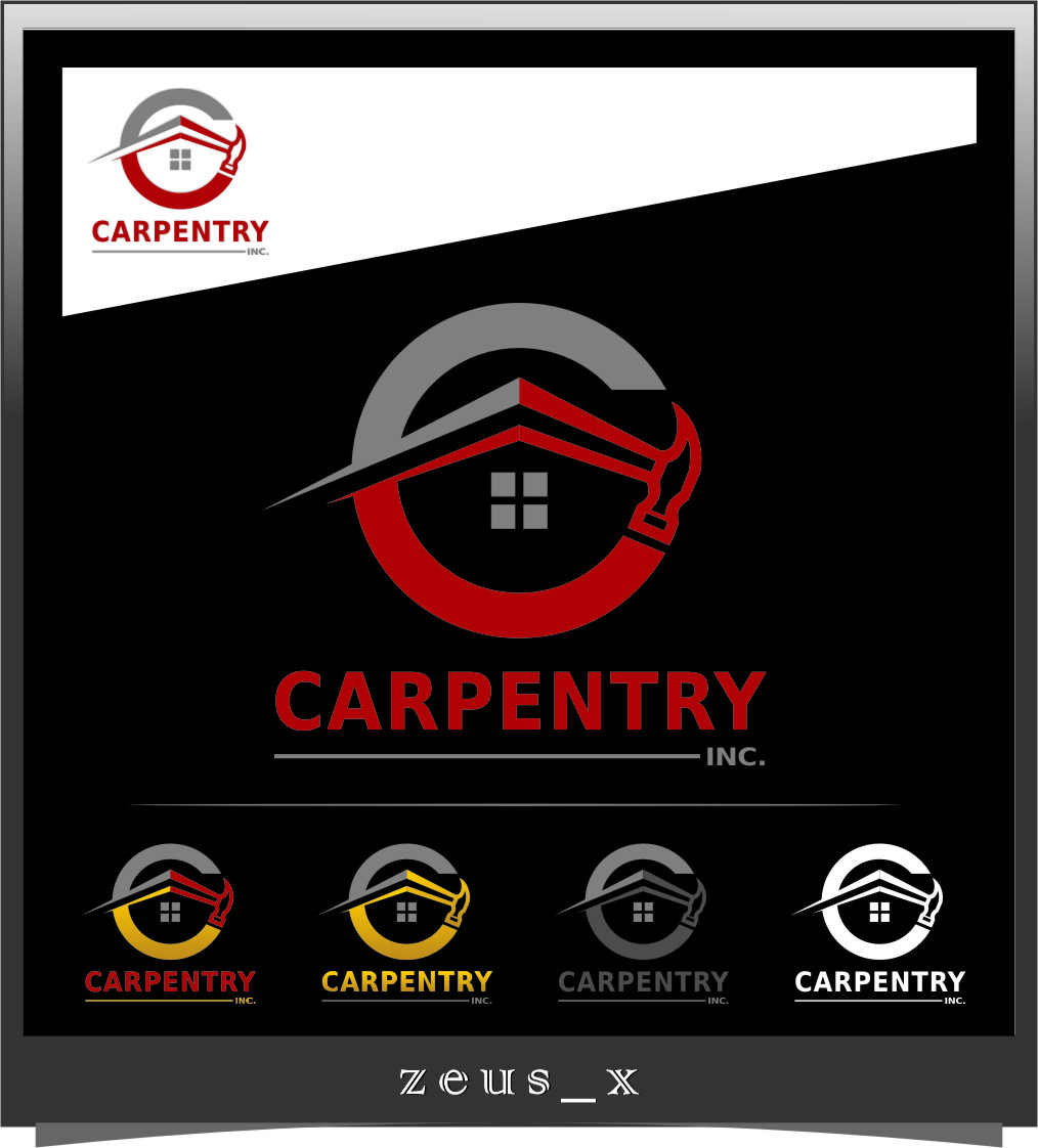 Logo Design by RoSyid Rono-Rene On Java - Entry No. 73 in the Logo Design Contest Creative Logo Design for Carpentry inc..