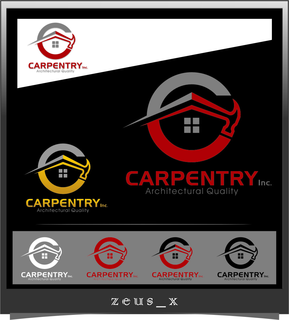 Logo Design by RasYa Muhammad Athaya - Entry No. 74 in the Logo Design Contest Creative Logo Design for Carpentry inc..