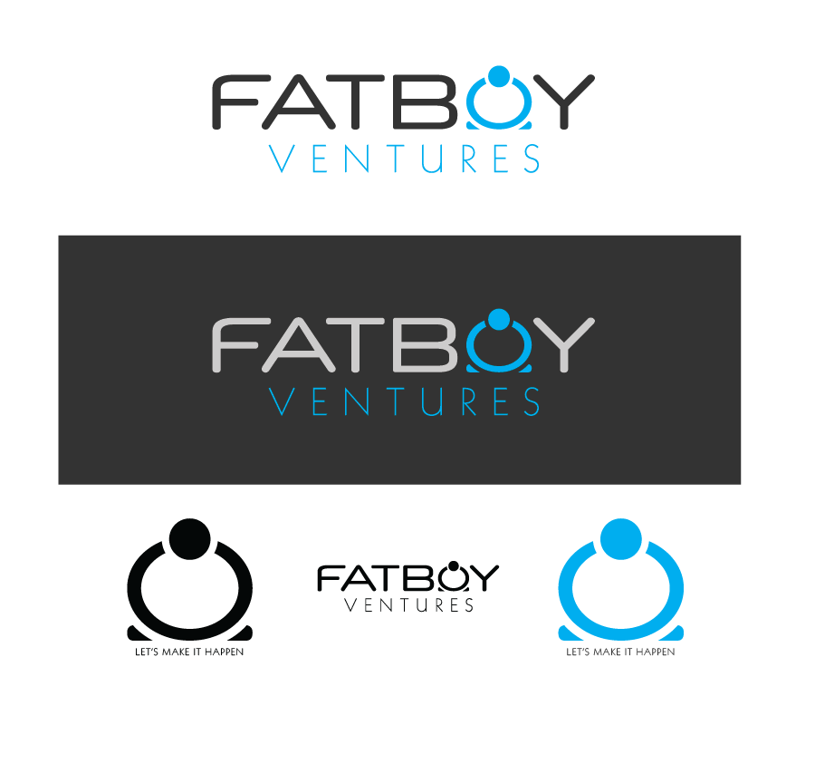 Logo Design by Christina Evans - Entry No. 45 in the Logo Design Contest Fun Logo Design for Fat Boy Ventures.