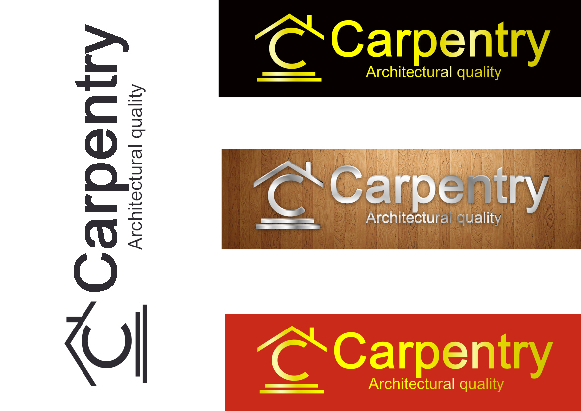 Logo Design by Heri Susanto - Entry No. 75 in the Logo Design Contest Creative Logo Design for Carpentry inc..