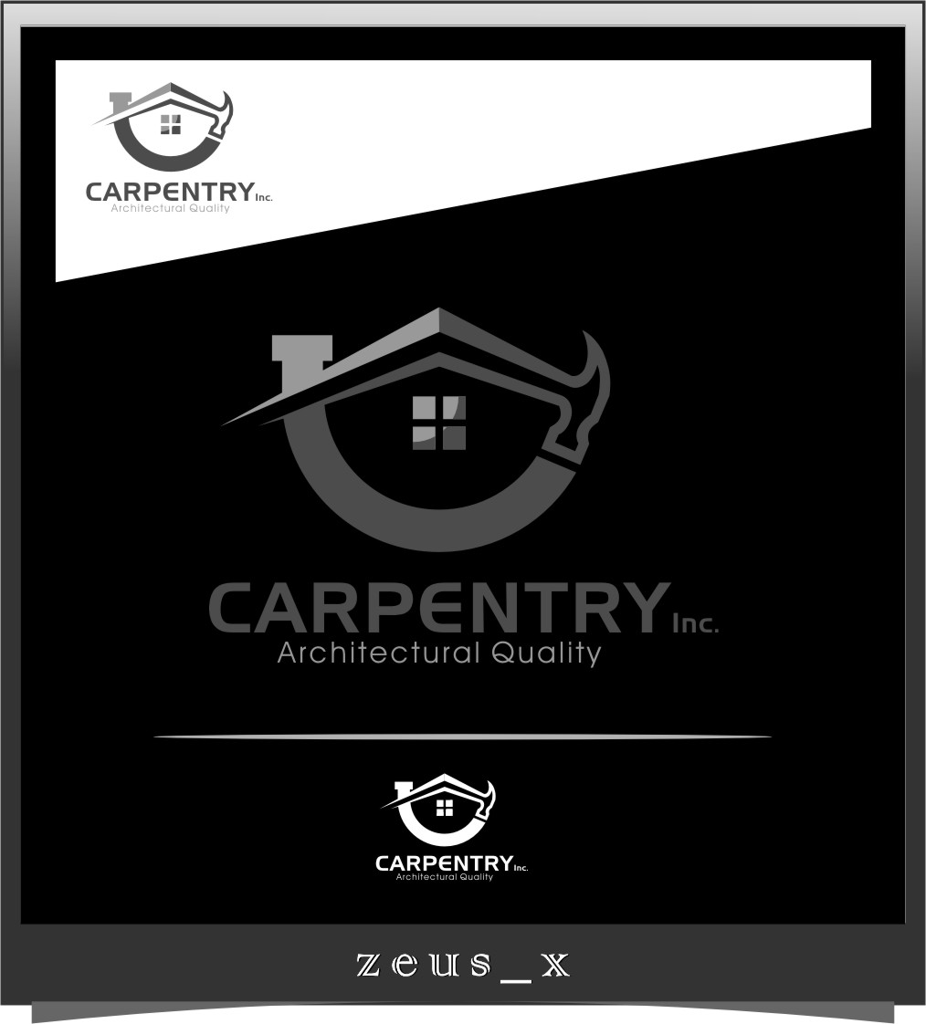 Logo Design by RasYa Muhammad Athaya - Entry No. 77 in the Logo Design Contest Creative Logo Design for Carpentry inc..