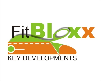 Logo Design by SquaredDesign - Entry No. 103 in the Logo Design Contest FitBloxx (creating block fits for the apparel industry).