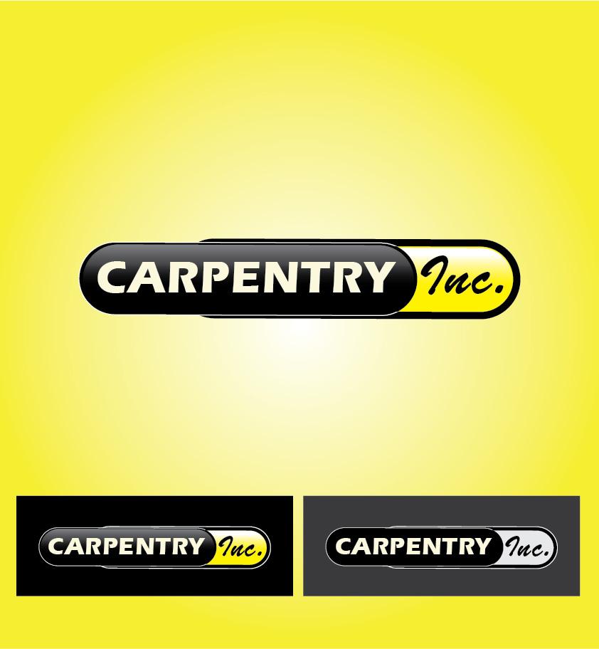 Logo Design by Iskander Dino - Entry No. 79 in the Logo Design Contest Creative Logo Design for Carpentry inc..