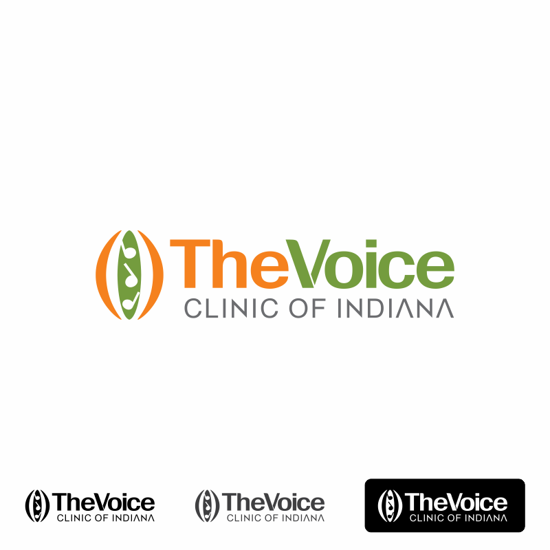 Logo Design by moisesf - Entry No. 16 in the Logo Design Contest Logo Design for The Voice Clinic of Indiana.