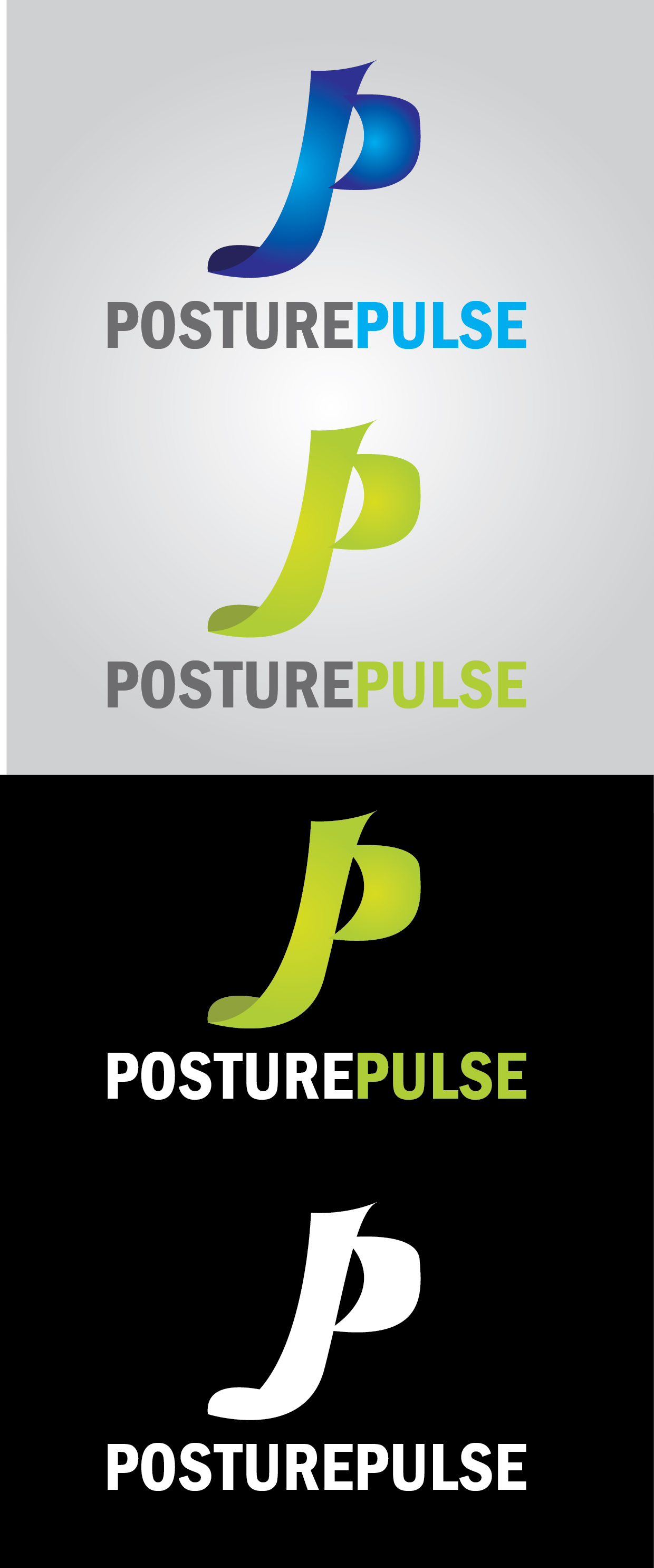 Logo Design by mediaproductionart - Entry No. 61 in the Logo Design Contest Unique Logo Design Wanted for PosturePulse.