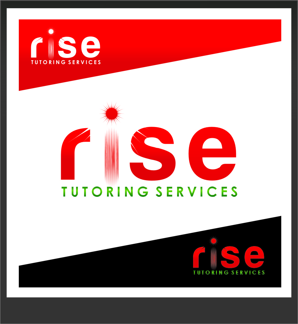Logo Design by Ngepet_art - Entry No. 100 in the Logo Design Contest Imaginative Logo Design for Rise Tutoring Service.
