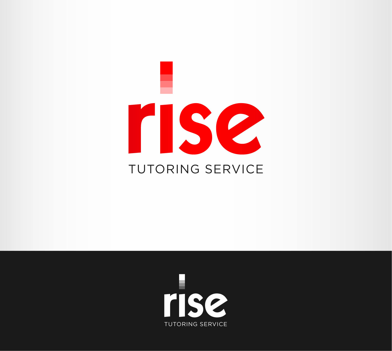 Logo Design by Andrés González - Entry No. 101 in the Logo Design Contest Imaginative Logo Design for Rise Tutoring Service.