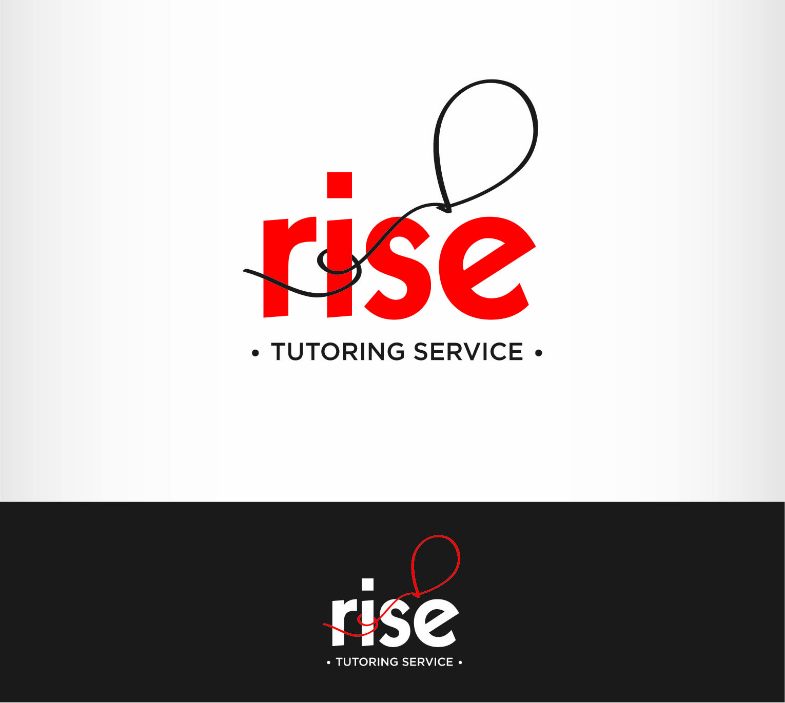 Logo Design by Andrés González - Entry No. 102 in the Logo Design Contest Imaginative Logo Design for Rise Tutoring Service.