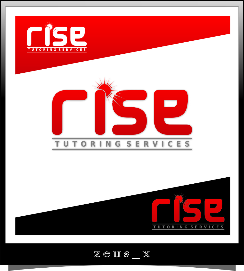 Logo Design by Ngepet_art - Entry No. 103 in the Logo Design Contest Imaginative Logo Design for Rise Tutoring Service.