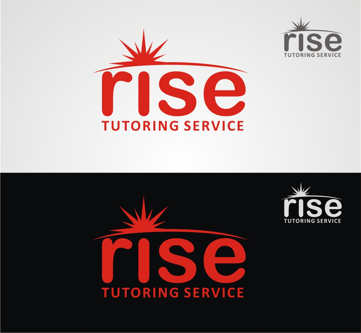 Logo Design by Reivan Ferdinan - Entry No. 106 in the Logo Design Contest Imaginative Logo Design for Rise Tutoring Service.