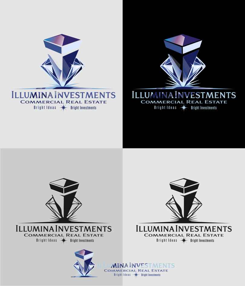 Logo Design by graphicleaf - Entry No. 70 in the Logo Design Contest Creative Logo Design for Illumina Investments.