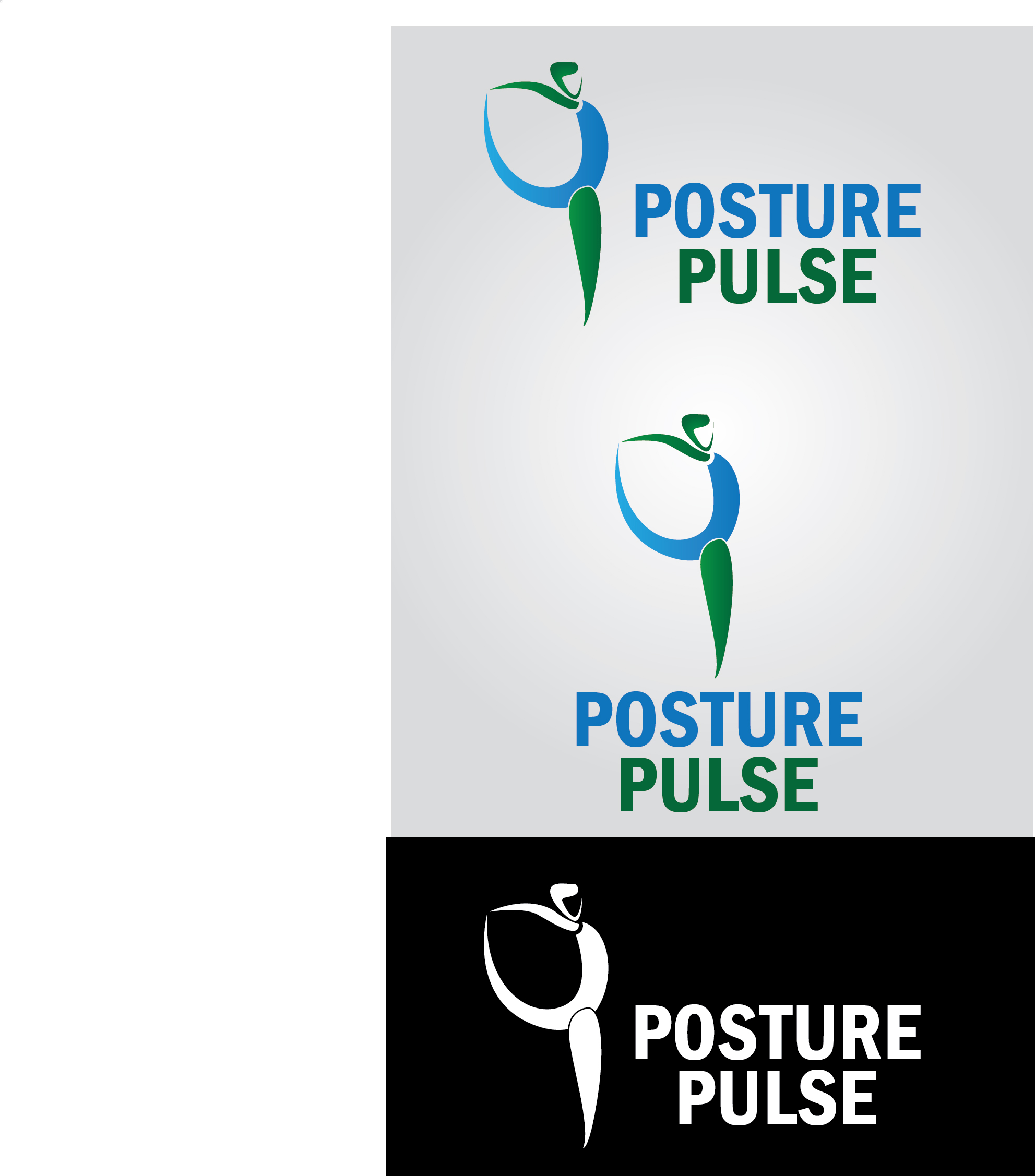 Logo Design by mediaproductionart - Entry No. 63 in the Logo Design Contest Unique Logo Design Wanted for PosturePulse.