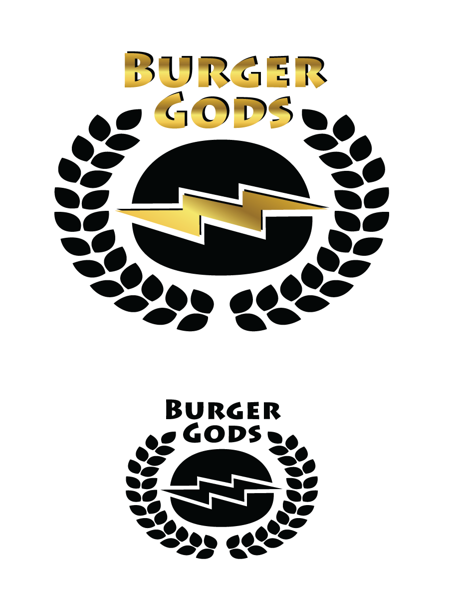 Logo Design by Christina Evans - Entry No. 2 in the Logo Design Contest Inspiring Logo Design for Burger Gods.