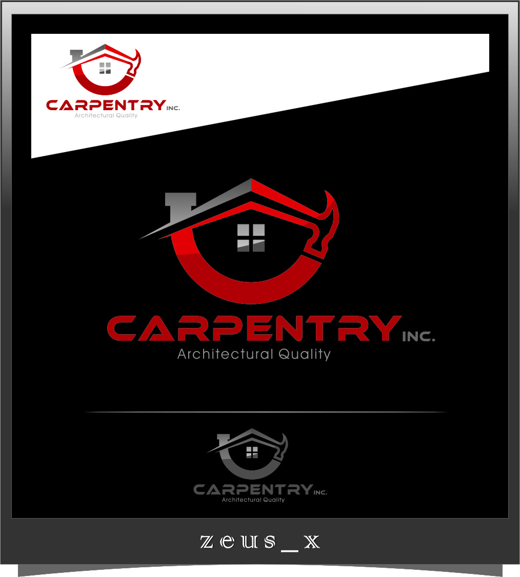 Logo Design by RasYa Muhammad Athaya - Entry No. 89 in the Logo Design Contest Creative Logo Design for Carpentry inc..