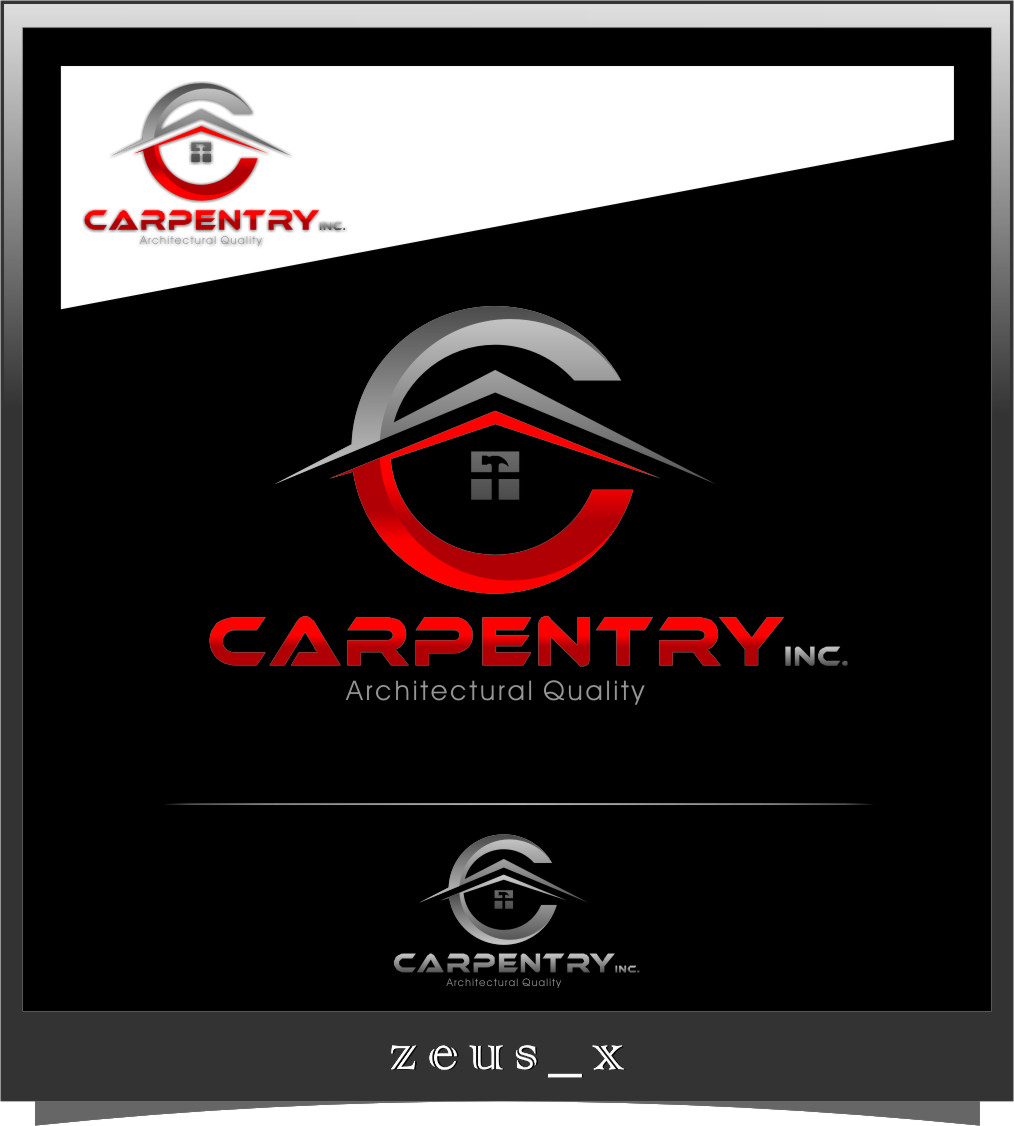Logo Design by RoSyid Rono-Rene On Java - Entry No. 90 in the Logo Design Contest Creative Logo Design for Carpentry inc..