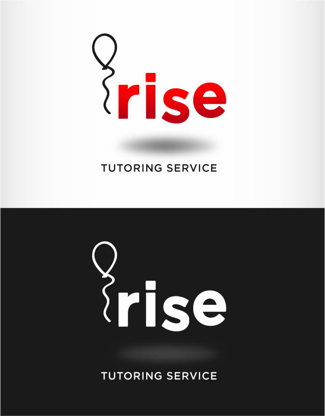 Logo Design by Andrés González - Entry No. 107 in the Logo Design Contest Imaginative Logo Design for Rise Tutoring Service.