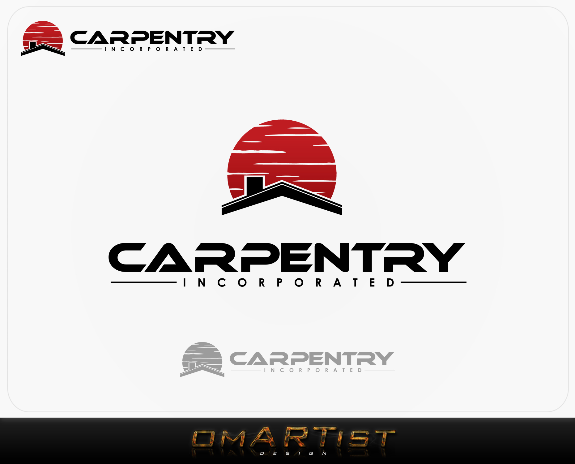 Logo Design by omARTist - Entry No. 91 in the Logo Design Contest Creative Logo Design for Carpentry inc..
