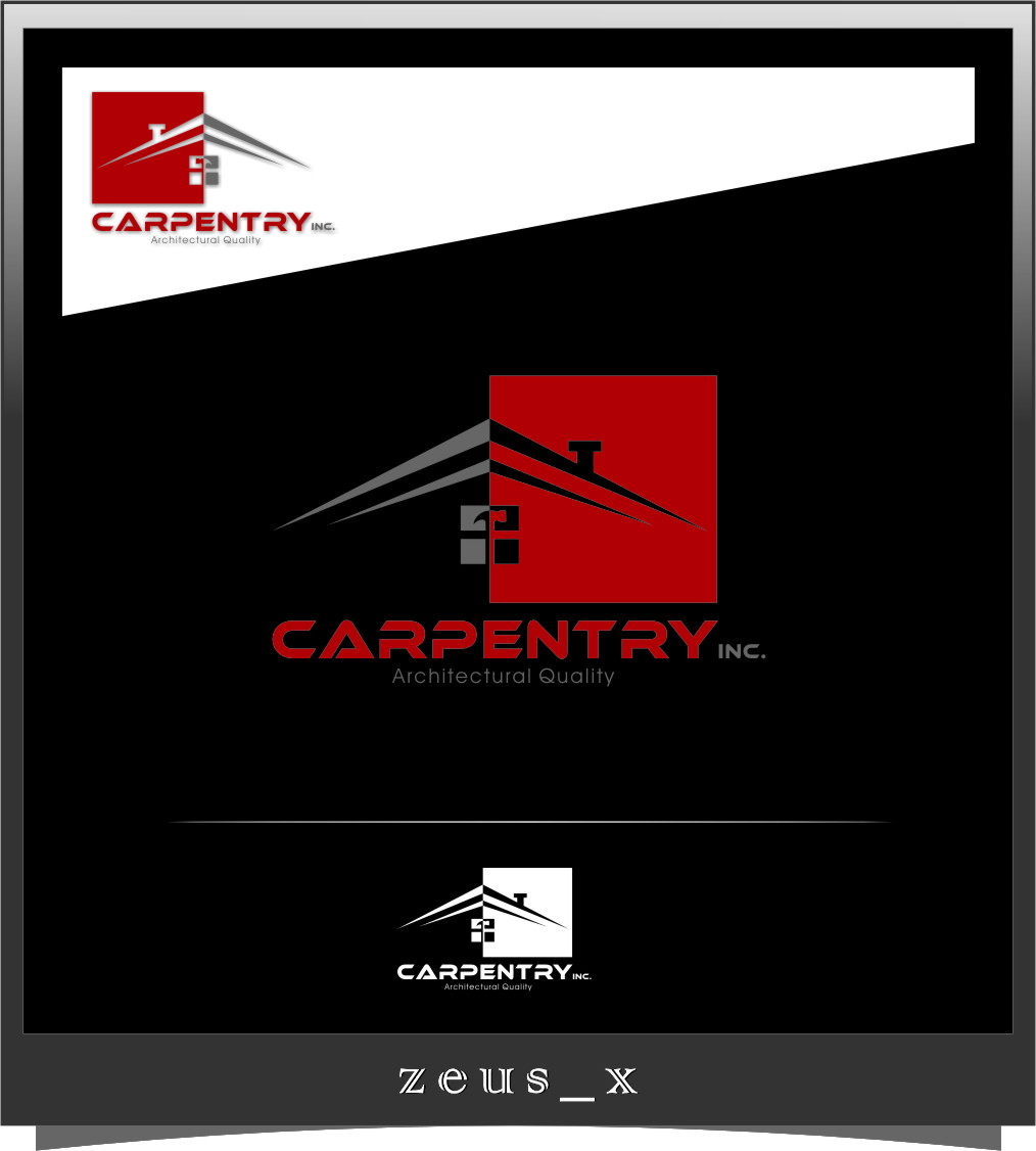 Logo Design by RasYa Muhammad Athaya - Entry No. 95 in the Logo Design Contest Creative Logo Design for Carpentry inc..