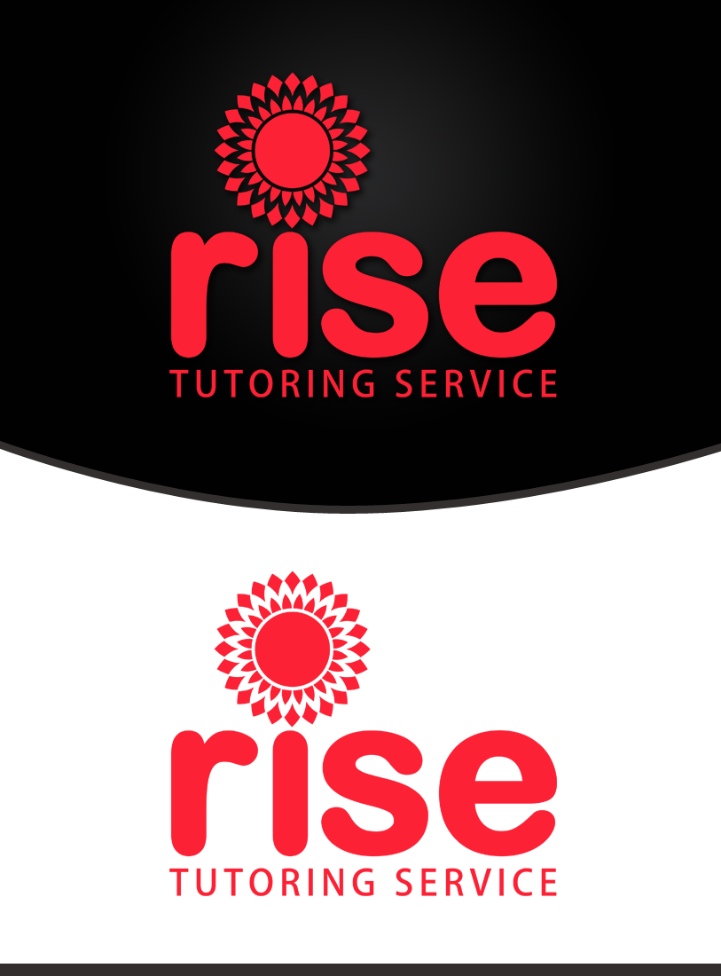 Logo Design by Private User - Entry No. 108 in the Logo Design Contest Imaginative Logo Design for Rise Tutoring Service.