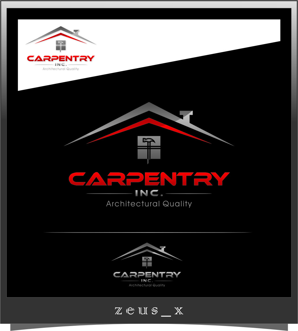 Logo Design by Ngepet_art - Entry No. 100 in the Logo Design Contest Creative Logo Design for Carpentry inc..