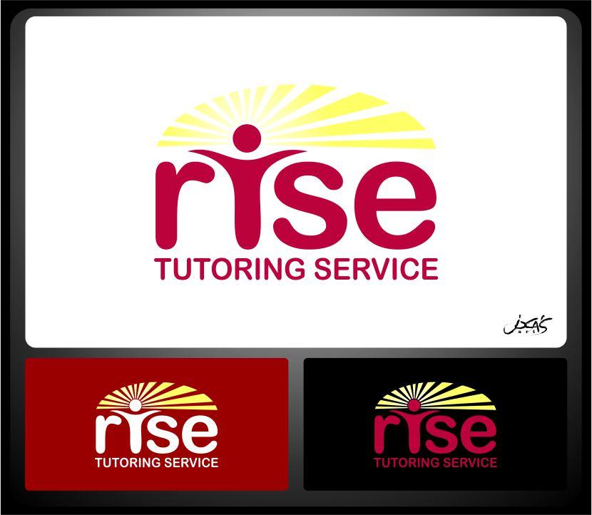 Logo Design by joca - Entry No. 109 in the Logo Design Contest Imaginative Logo Design for Rise Tutoring Service.