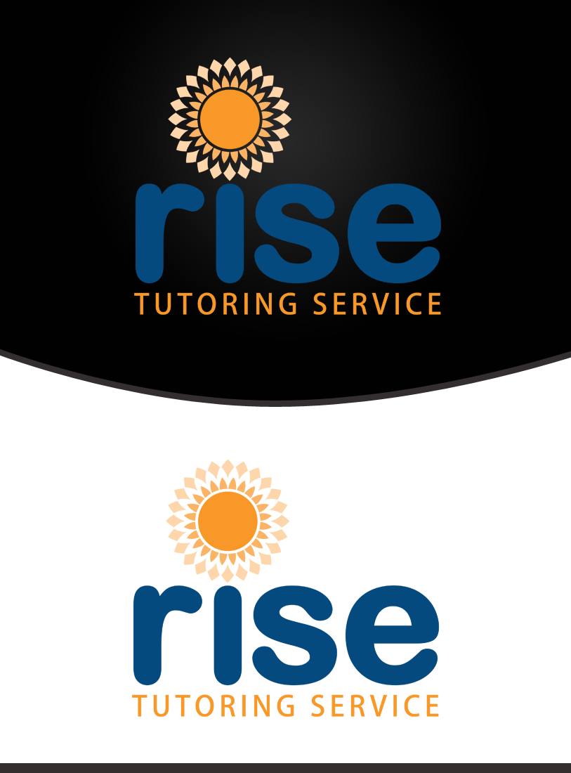 Logo Design by Private User - Entry No. 110 in the Logo Design Contest Imaginative Logo Design for Rise Tutoring Service.