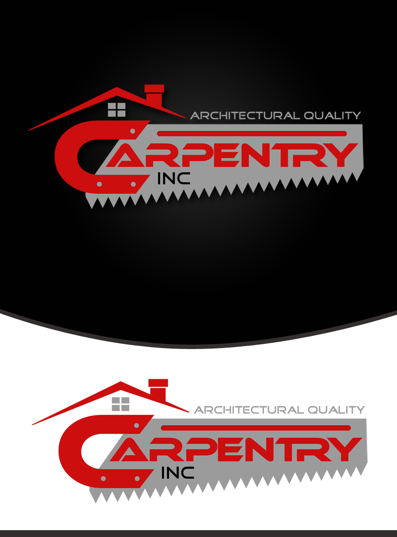 Logo Design by Private User - Entry No. 108 in the Logo Design Contest Creative Logo Design for Carpentry inc..