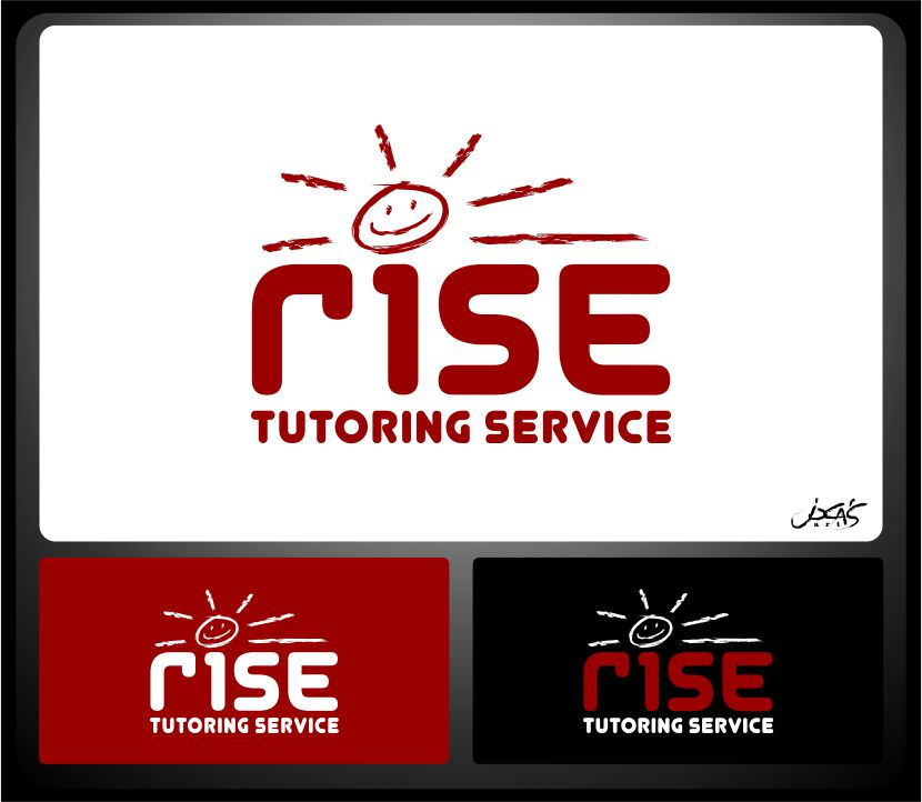Logo Design by joca - Entry No. 111 in the Logo Design Contest Imaginative Logo Design for Rise Tutoring Service.