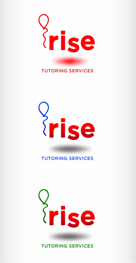 Logo Design by Andrés González - Entry No. 113 in the Logo Design Contest Imaginative Logo Design for Rise Tutoring Service.