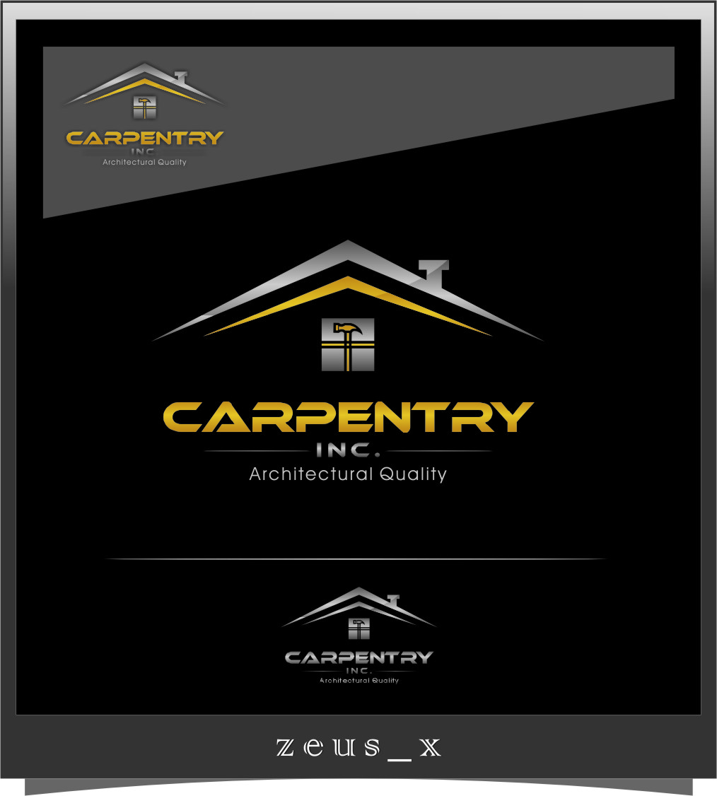 Logo Design by RasYa Muhammad Athaya - Entry No. 112 in the Logo Design Contest Creative Logo Design for Carpentry inc..