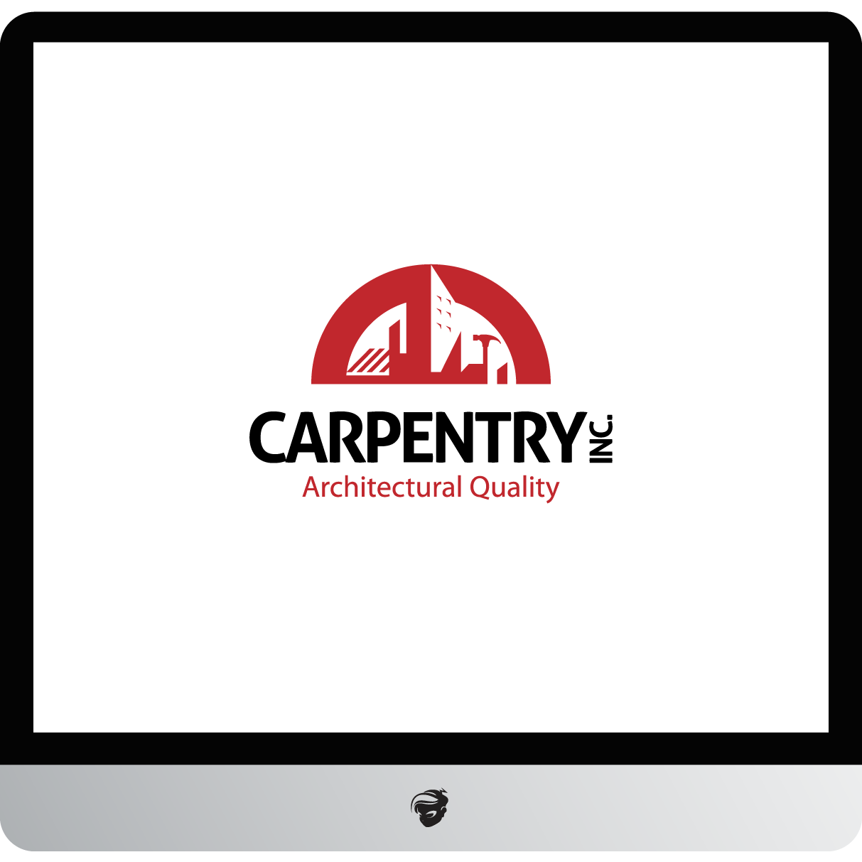 Logo Design by zesthar - Entry No. 116 in the Logo Design Contest Creative Logo Design for Carpentry inc..