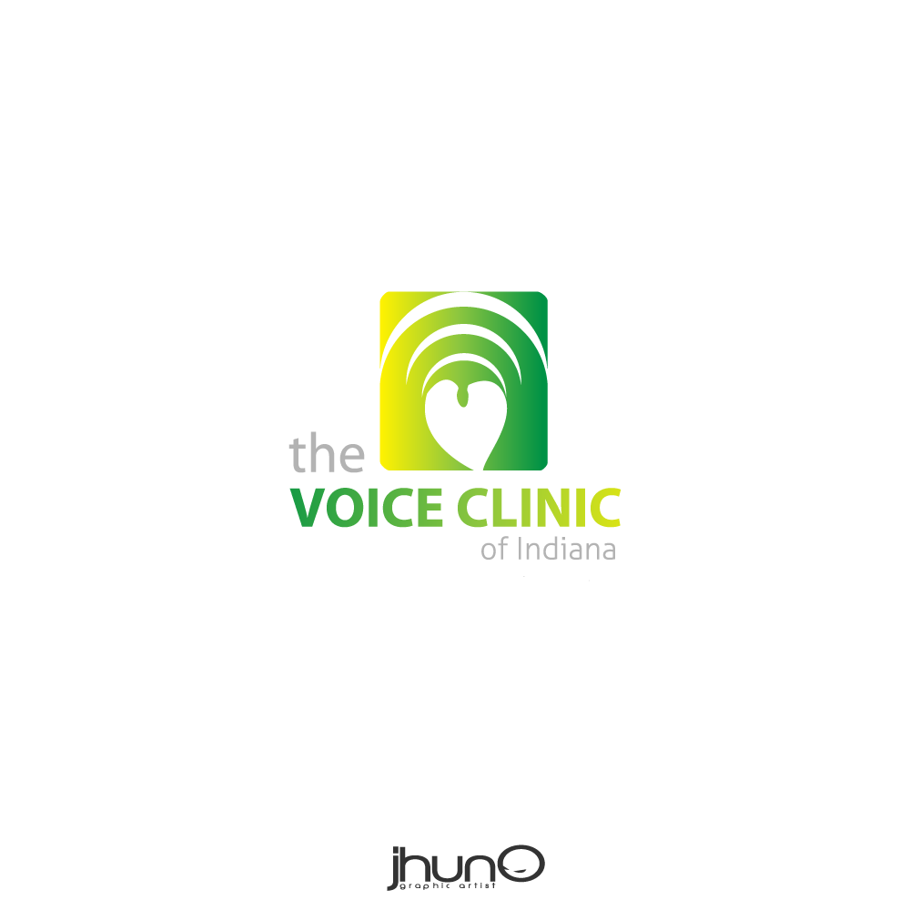 Logo Design by zesthar - Entry No. 20 in the Logo Design Contest Logo Design for The Voice Clinic of Indiana.