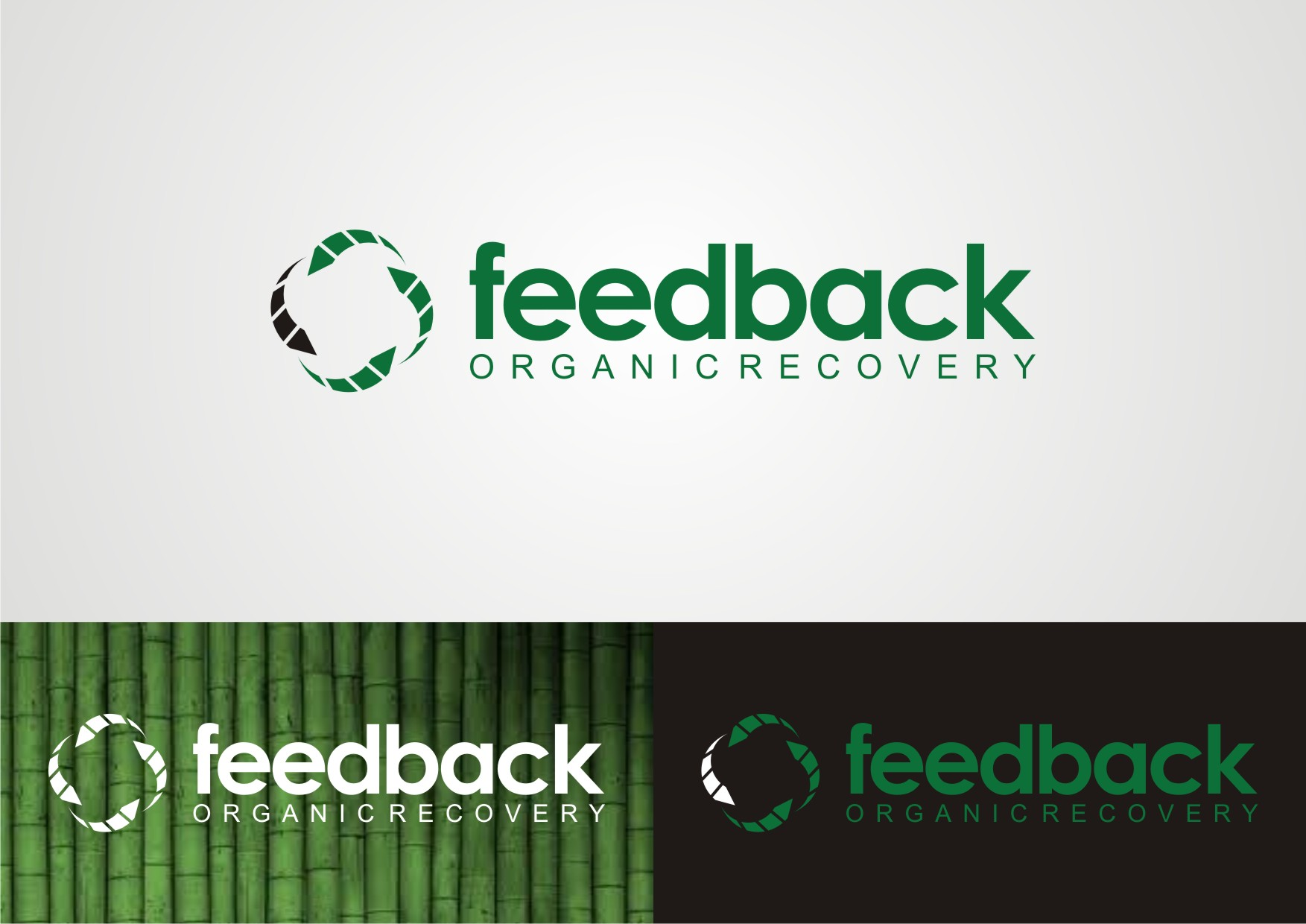 Logo Design by Private User - Entry No. 28 in the Logo Design Contest Feedback Organic Recovery  Logo Design.
