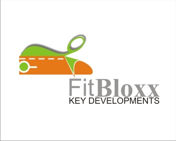 Logo Design by SquaredDesign - Entry No. 104 in the Logo Design Contest FitBloxx (creating block fits for the apparel industry).
