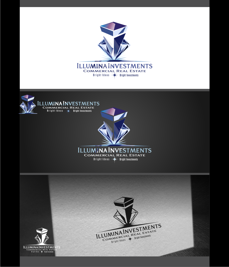 Logo Design by graphicleaf - Entry No. 75 in the Logo Design Contest Creative Logo Design for Illumina Investments.