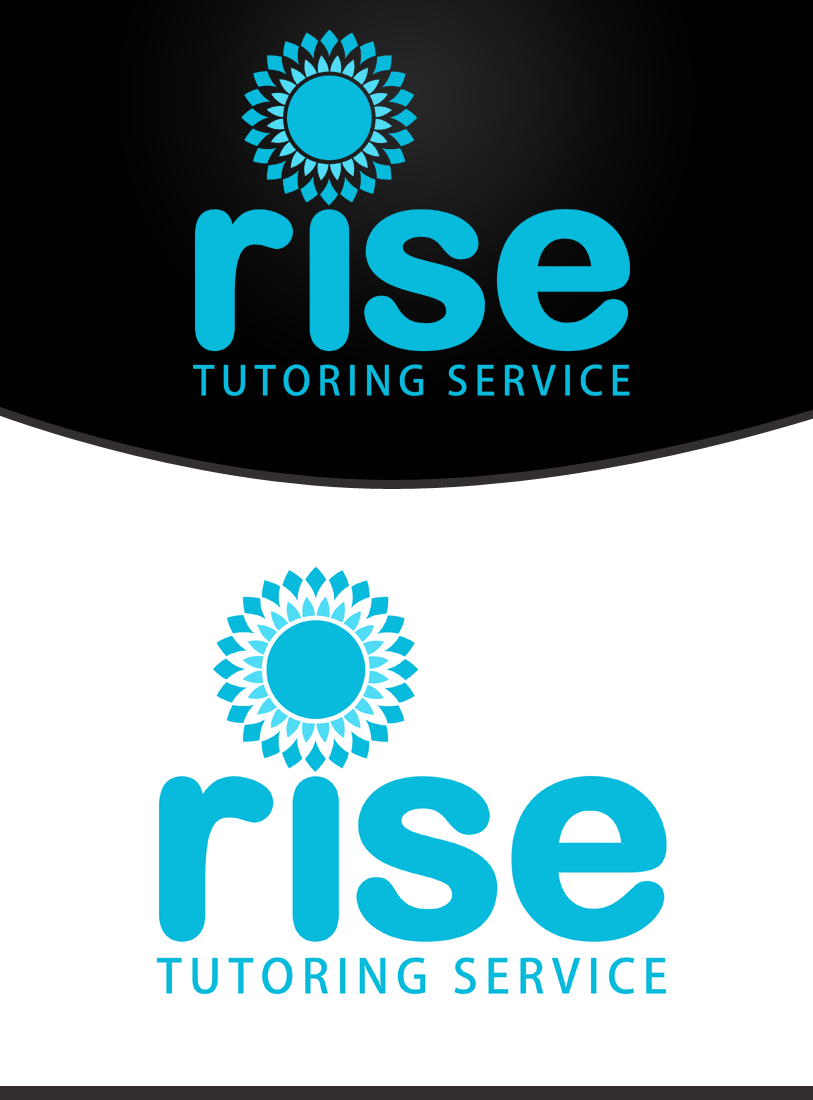 Logo Design by Private User - Entry No. 116 in the Logo Design Contest Imaginative Logo Design for Rise Tutoring Service.