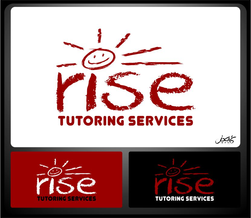 Logo Design by joca - Entry No. 128 in the Logo Design Contest Imaginative Logo Design for Rise Tutoring Service.