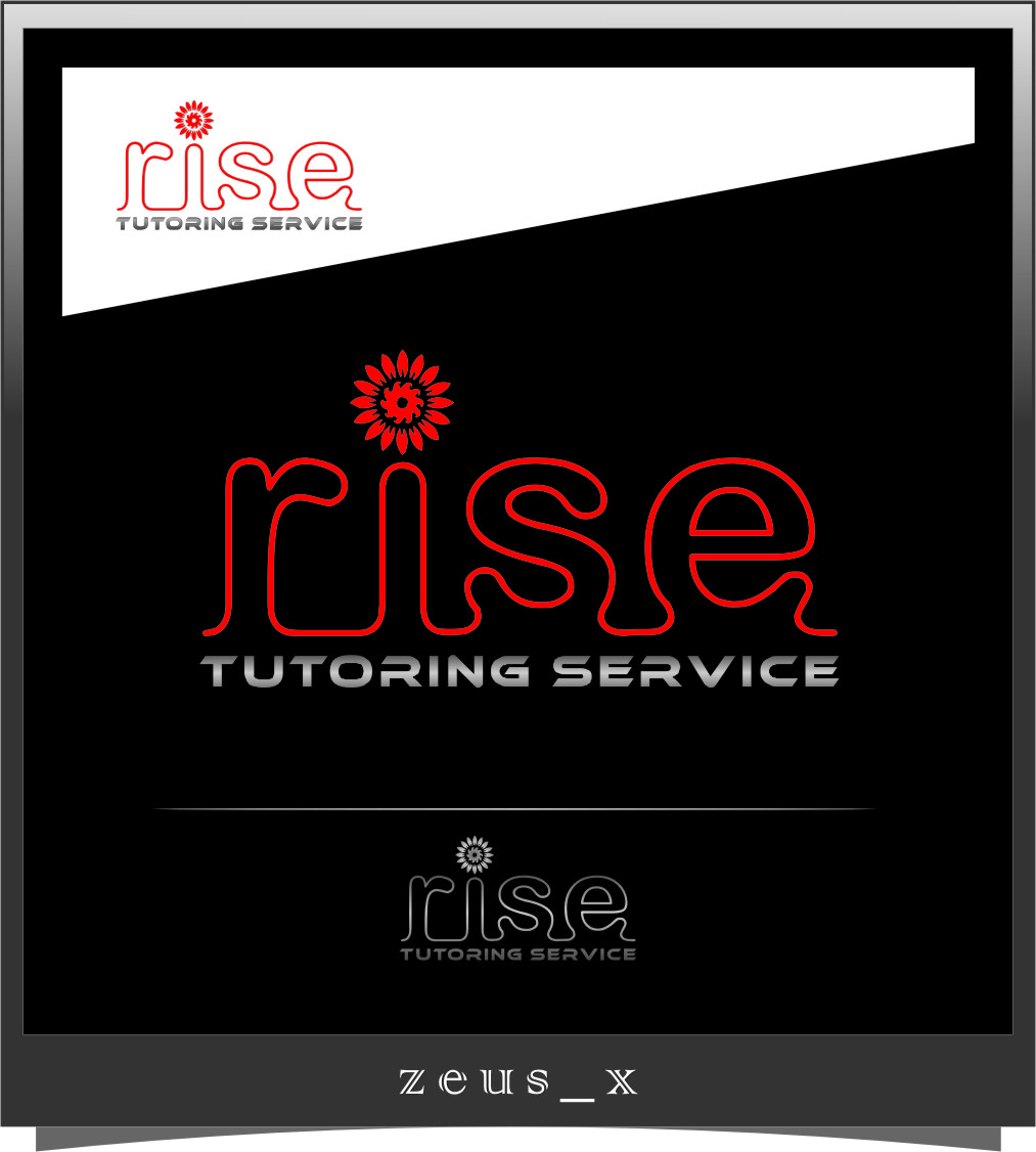 Logo Design by RasYa Muhammad Athaya - Entry No. 131 in the Logo Design Contest Imaginative Logo Design for Rise Tutoring Service.