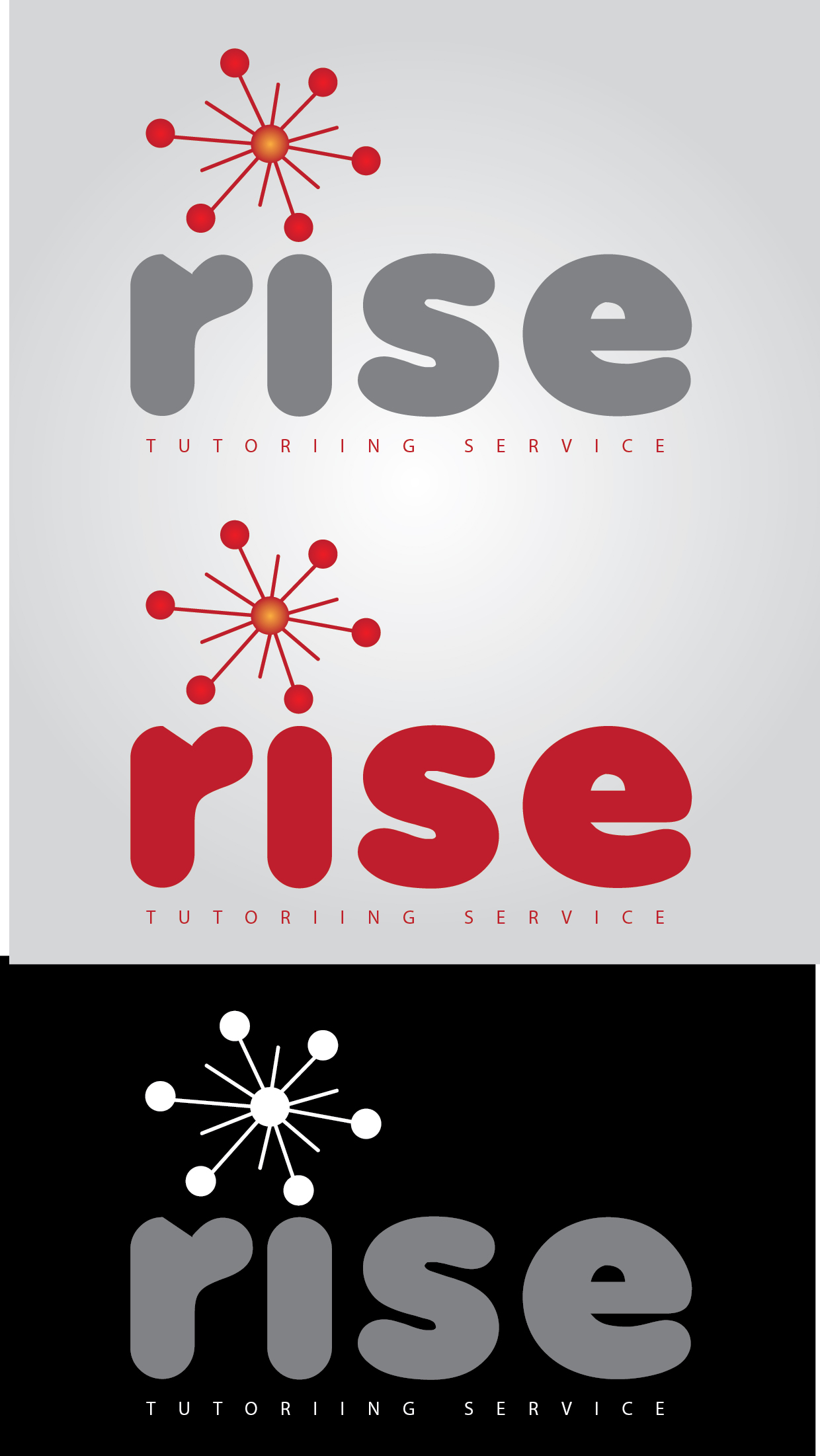 Logo Design by mediaproductionart - Entry No. 132 in the Logo Design Contest Imaginative Logo Design for Rise Tutoring Service.