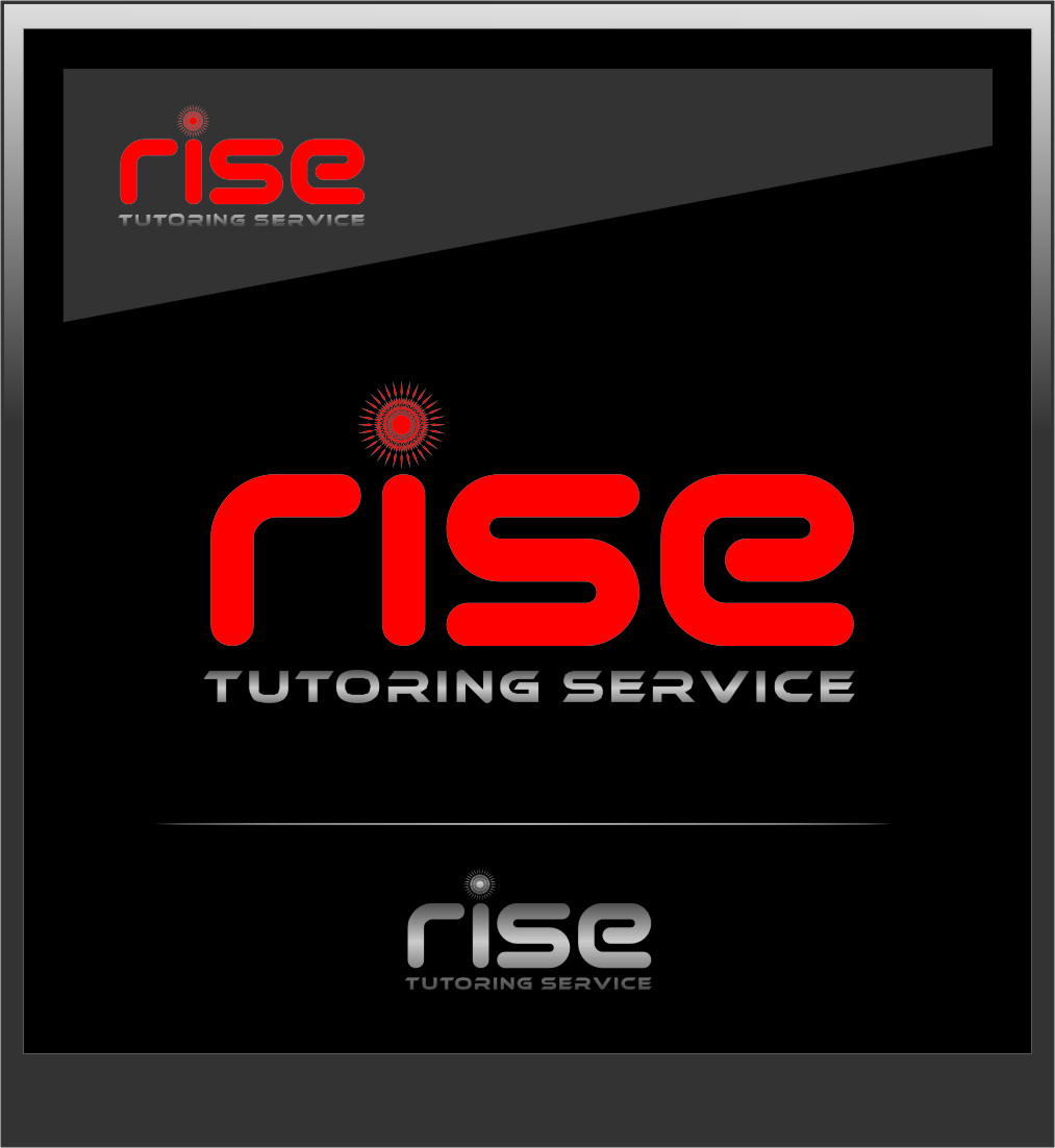 Logo Design by Ngepet_art - Entry No. 133 in the Logo Design Contest Imaginative Logo Design for Rise Tutoring Service.